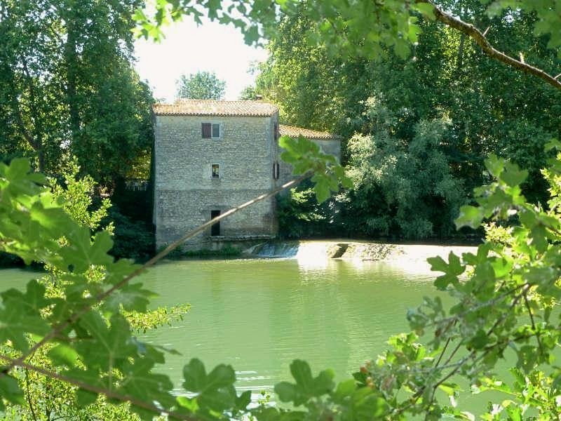 Exterior View, Converted Watermill in Languedoc